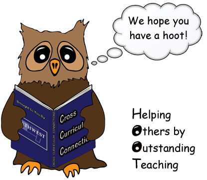 Owl - We hope you have a Hoot! Helping Others by Outstanding Teaching